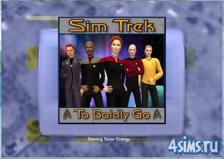 Скриншоты из игры The Sims2 To Boldly Go