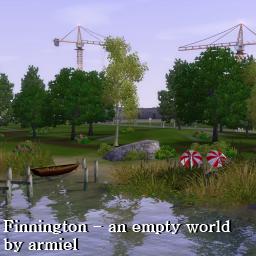 Новый красивый город для The Sims 3 в формате sims3pack