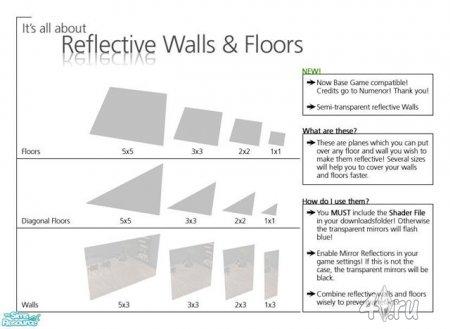 Зеркальные полы и стены! (Симс2)