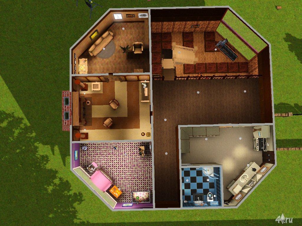Дома в симс 4 схемы строения домов снаружи и внутри