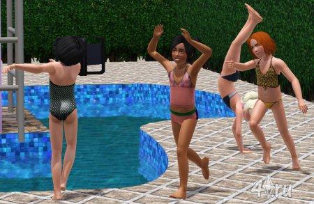 Прикольные купальники для детей (Симс3)