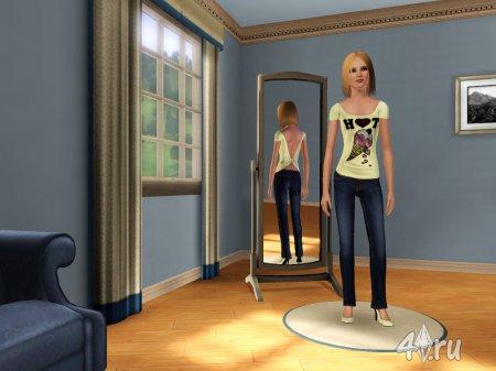 Моя первая симка Натали (Sims 3)