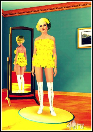 Симка LaDy GaGa - Eh Eh (Nothing Else I Can Say) Sims 3