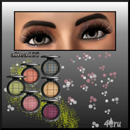 "Тени ""EyeShadow Diamonds"" от Altea127 для Sims 3"