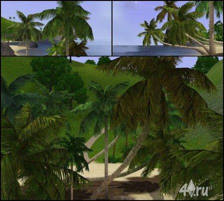 Пальмы от Luna для симс 3