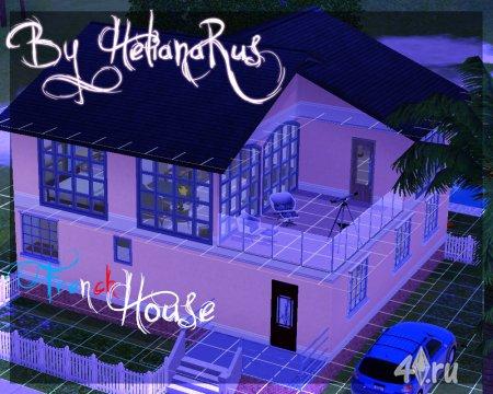 Французский дом от HelianaRus для Симс 3 в формате sims3pack