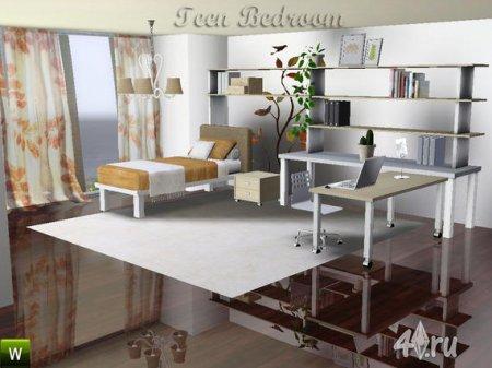 Спальня для подростка от Deeiutza для Симс 3 в формате sims3pack