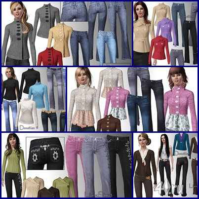 ����� ������ �� ����� ��� ���� 3 � ������� sims3pack