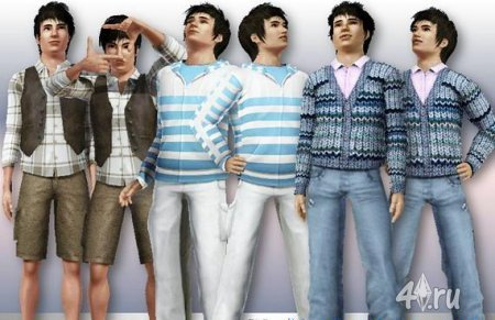 ����� ������� ������ ��� ���� 3 � ������� sims3pack