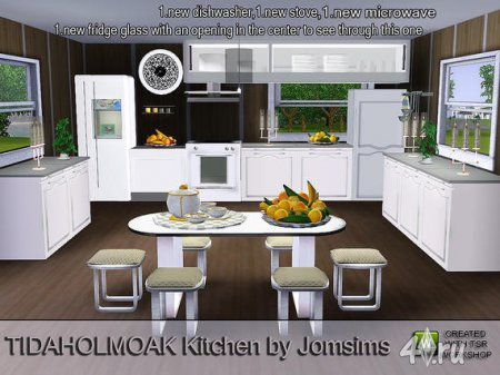 Jomsims 3 for Kitchen designs sims 3