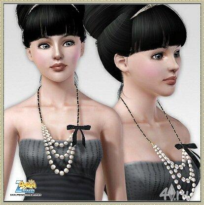 Новая бижутерия (ожерелье) от peggyzone для Sims3