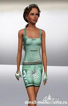 Новый спортивный костюм для Sims3