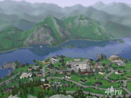 """Город """"Hidden Springs"""" из The Store для Sims 3"""