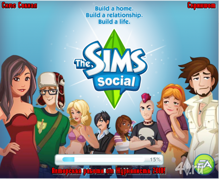 The Sims Social (А/Р от 2010)