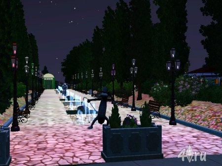 Скриншоты Парк для Симс 3