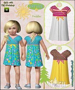 Платья для малышек (Sims 3)