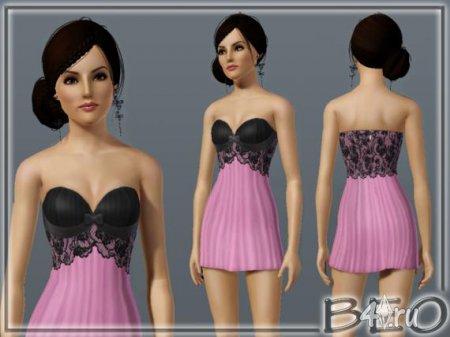 Платье от Beo для Sims 3.