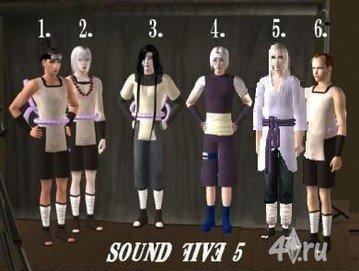 имена персонажей из наруто с фото