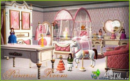 Комната Принцессы для Симс 3