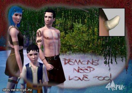 Рога демона от WOE для Симс 3