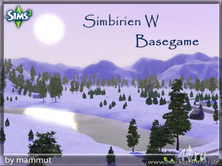 Городок Simbirien_W от mammut для Симс 3