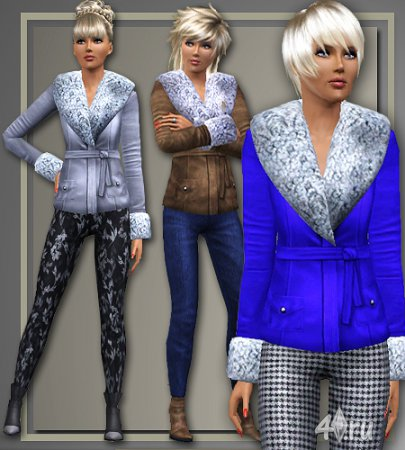 ����� ������ �� All About Style ��� Sims 3 � ������� sims3pack