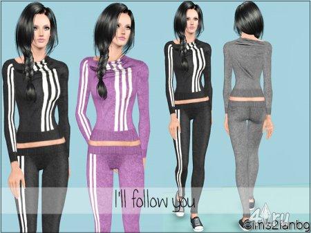 Спортивный костюм от Sims2fanbg для Sims 3