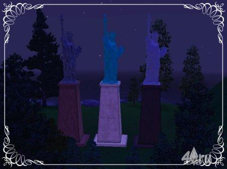 Статуя свободы для Симс 3