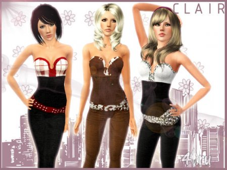 Clair Outfit (Sims 3)