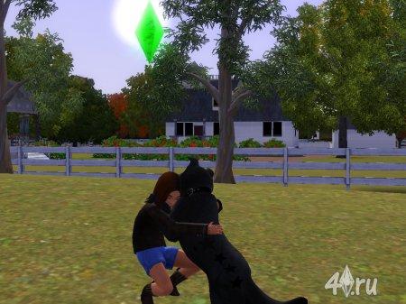 Мой питомец из игрыThe Sims 3 питомцы