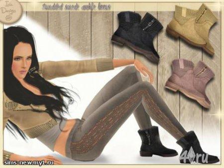 Ботинки от Icia23  для Симс 3 в формате sims3pack