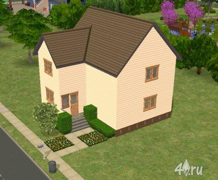 Уютный дом (sims2pack)
