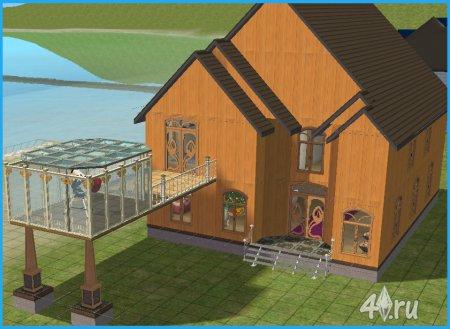 Дом у воды (sims2pack) для Симс 2
