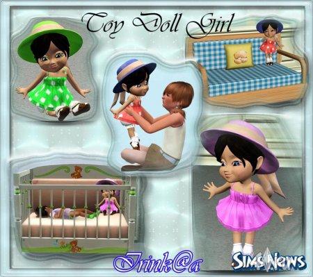 Кукла для Sims 3