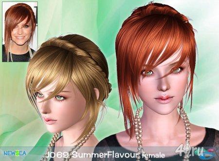 Прическа Летний вкус для всех возрастов от NewSea для Sims 3 в формате sims3pack