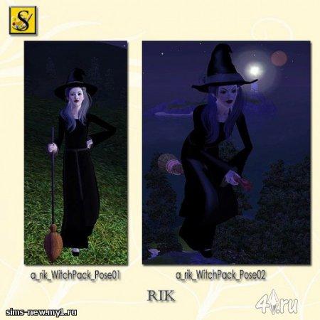 Позы ведьмы от Riccardino_96