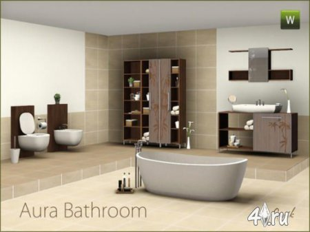 Bathrooms accessories set