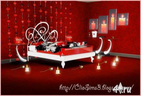 Мебель и предметы интерьера спальни