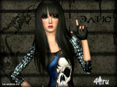 Симка Элис от Rikka_01 для Симс 3