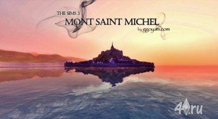 Mont Saint Michel от Domang для Симс 3