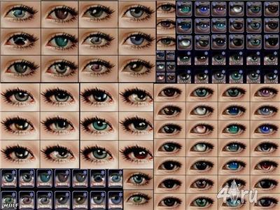 Глазки для Симс 2