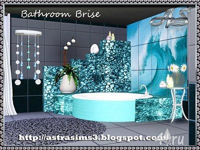 """Ванная """"Brise"""" для Симс 3 в формате sims3pack"""