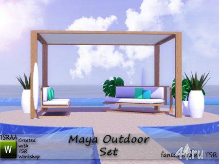 Мебель для патио для Симс 3 в формате sims3pack