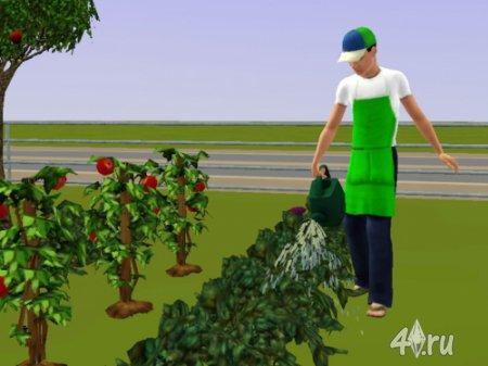 Обслуга-садовник от douglasveiga для Симс 3