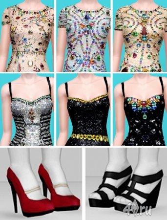 Dolce & Gabbana весна-лето 2012 для Симс 3 в формате sims3pack и package