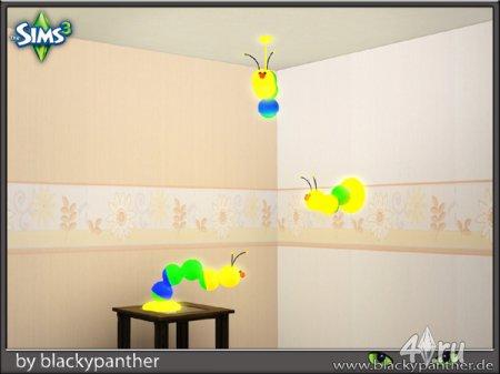 Набор ламп для детской от blackypanther для Симс 3 в формате sims3pack