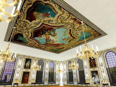 Коллекция королевских потолков в стиле Барокко для Симс 3 в формате sims3pack