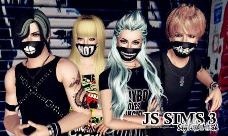 Стильная маска от JS SIMS 3 для Симс 3 в формате sims3pack