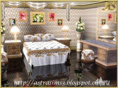 "Спальня ""Глория"" от Astra для Симс 3 в формате sims3pack"