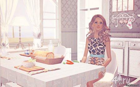 Набор для кухни от Camille для Симс 3 в формате sims3pack